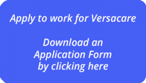 Download an application form to work at Versacare Live in care